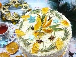 Украшение любого праздника: рецепт морковного торта с апельсиновым курдом