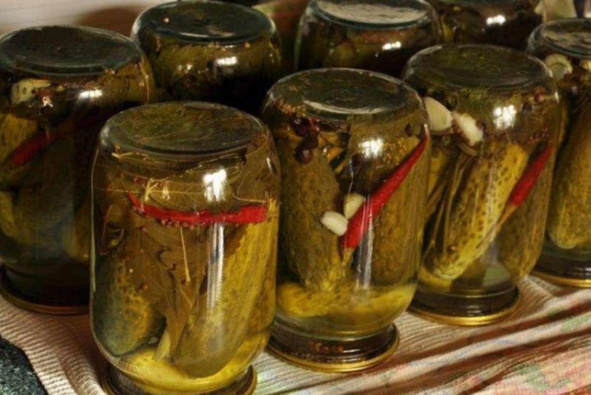 Как заготовить хрустящие маринованные огурцы с острым перцем: 5 рецептов на зиму