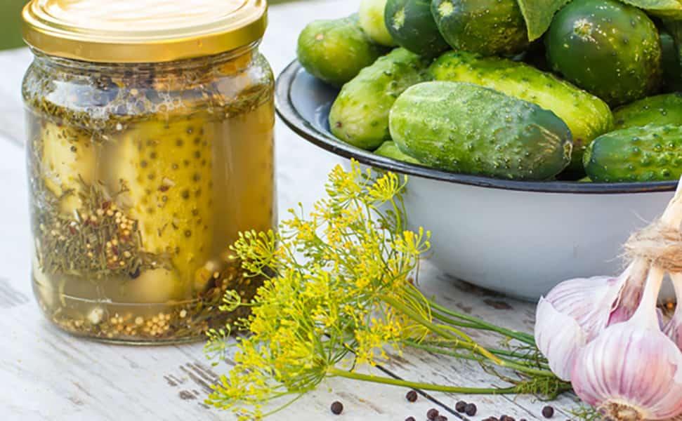 ТОП-5 рецептов сладких маринованных огурцов