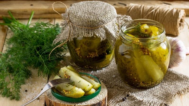 Огурцы с горчицей на зиму в банках: лучшие рецепты и полезные советы