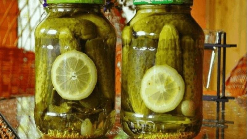 Вкусные и ароматные огурцы с лимоном на зиму: рецепты