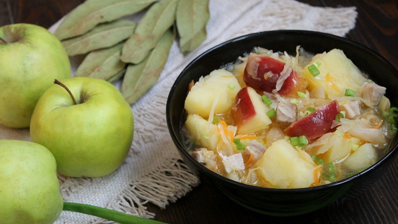 Капуста квашеная с яблоками на зиму рецепты: как очень вкусно приготовить закуску