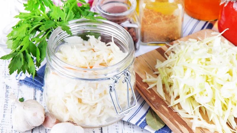 Квашеная капуста с имбирем: полезные свойства и пошаговые рецепты