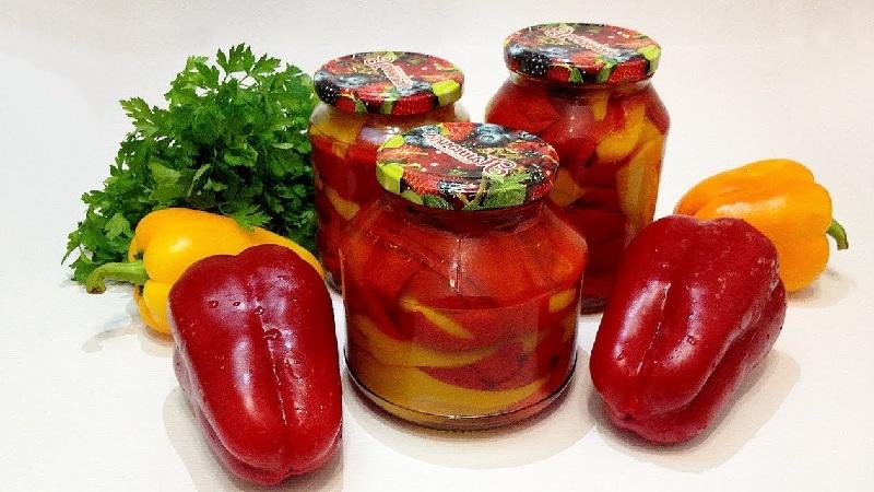 Маринованный сладкий перец на зиму без стерилизации: рецепты и советы по приготовлению