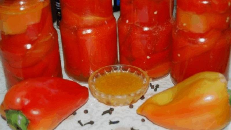 Необычная консервация с изысканным вкусом: маринованный сладкий перец на зиму с медом