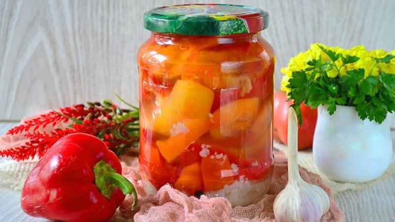 Перец маринованный в масле на зиму: простой рецепт вкусной закуски