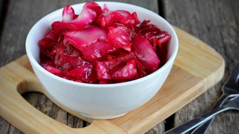 Вкусный рецепт пилюски из капусты без свеклы, классическим и другими способами