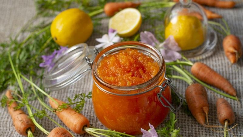 Как приготовить вкусное варенье из моркови с лимоном и апельсином: рецепт опытных хозяек