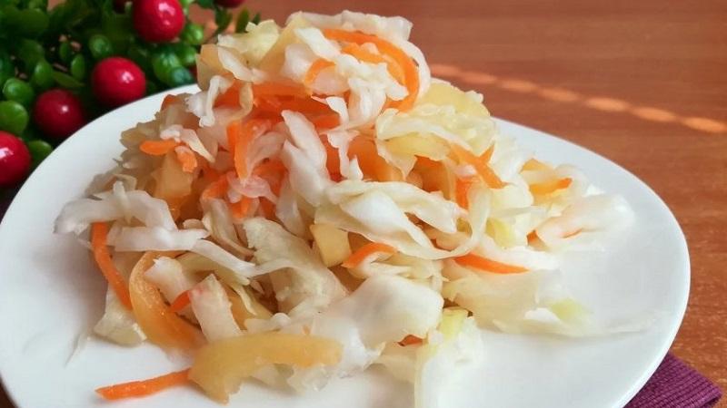Вкусные заготовки на зиму: капуста маринованная быстрого приготовления (рецепт)