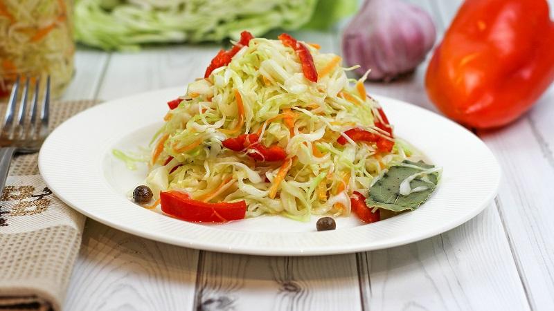 Лучший рецепт быстрой засолки капусты с уксусом: технология приготовления, а также советы по выбору продуктов и хранению закуски