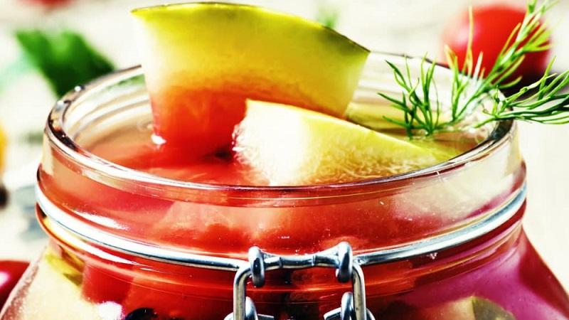 Вкусные рецепты для ваших заготовок: арбуз маринованный быстрого приготовления