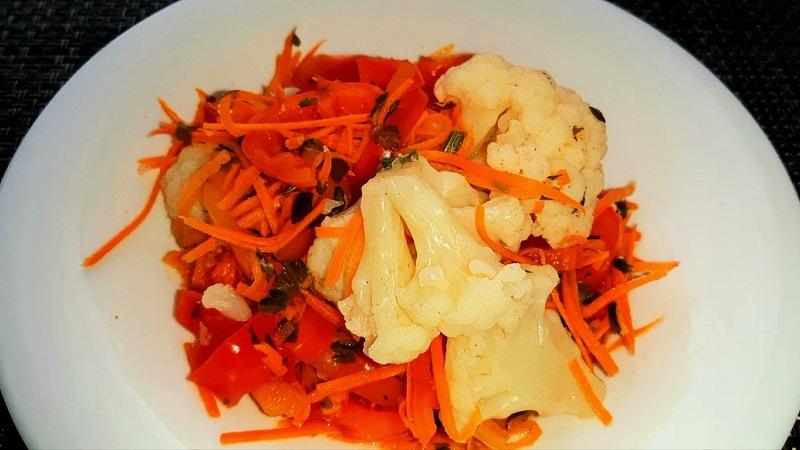 Для любителей острых закусок: засолка капусты по-корейски