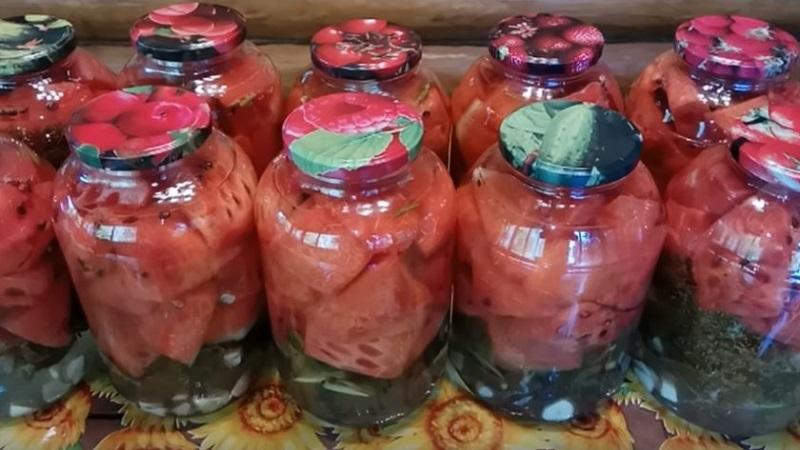 Лучшие рецепты для ваших заготовок: арбузы соленые в банках на зиму без стерилизации