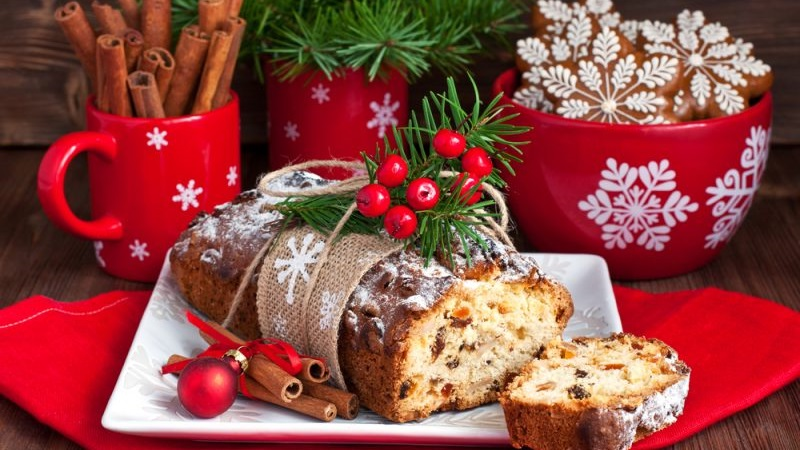 Изумительный рождественский кекс - рецепты со всего мира