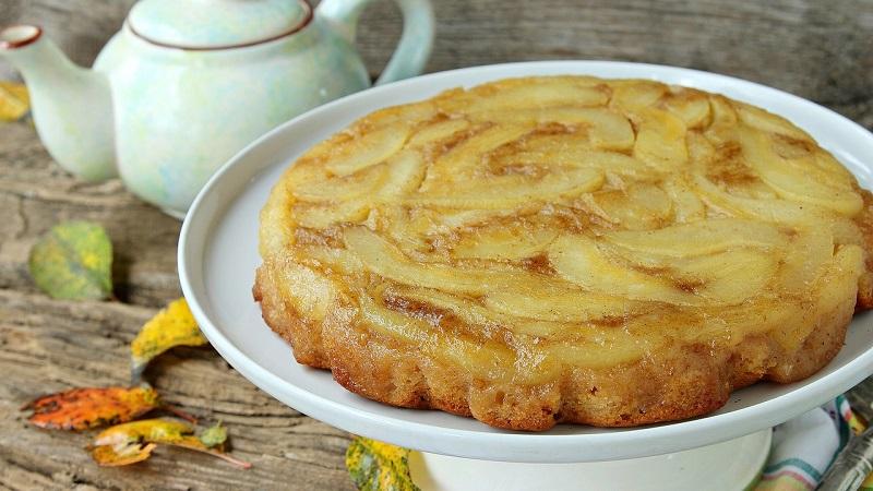 Печем грушевый пирог для семейного чаепития и на праздничный стол