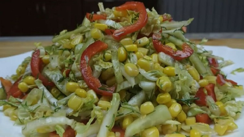 Вкусно, быстро и полезно: салаты из пекинской капусты - рецепты приготовления в домашних условиях