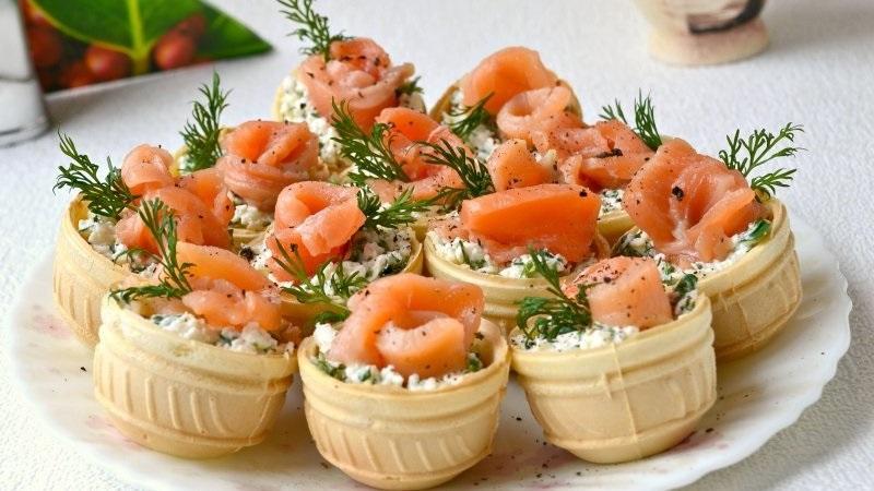 Самые вкусные тарталетки с начинкой - рецепты к новогоднему столу