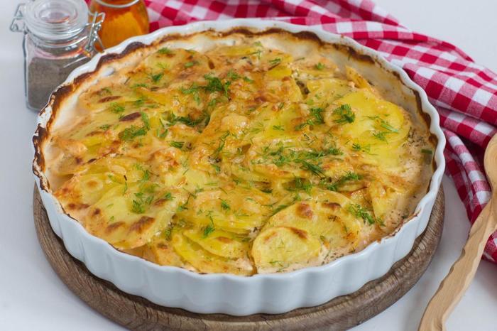 Варианты меню: что можно приготовить из картошки без мяса