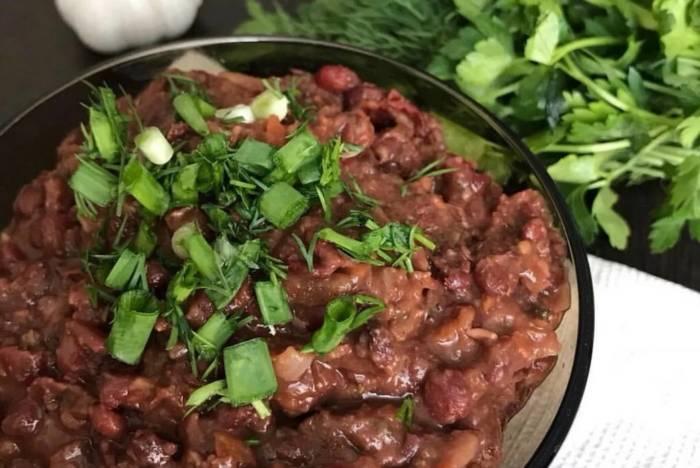 Лучшие рецепты лобио по-грузински