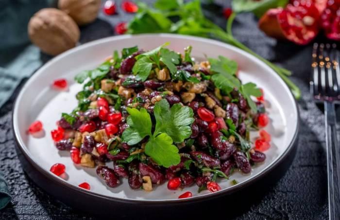Рецепты лучших грузинских салатов