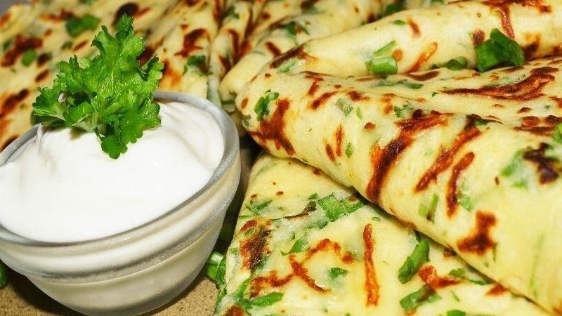 Интересные рецепты в вашу копилку: сырные блины - просто, быстро и вкусно