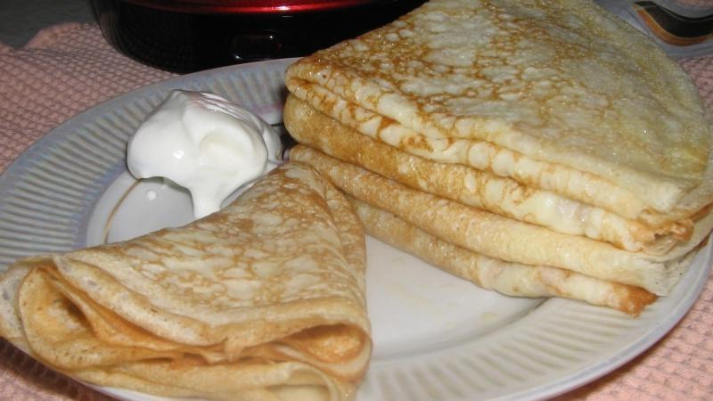 Как приготовить ажурные заварные блины на кефире и кипятке - лучшие рецепты